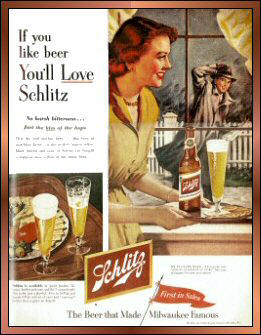 Schlitz First In Sales